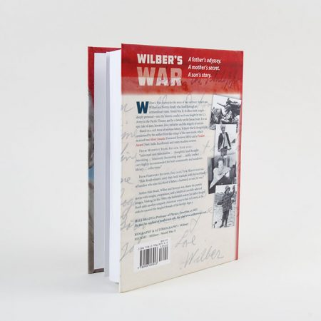Wibers' Wars-An American Journey through World War 2-Back Cover